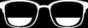 אייקון: משקפיים עם עדשות מולטיפוקל
